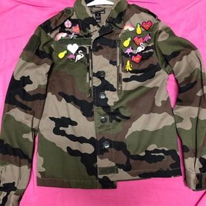 Camo Military Jacket Bloomingdale's Exclusive
